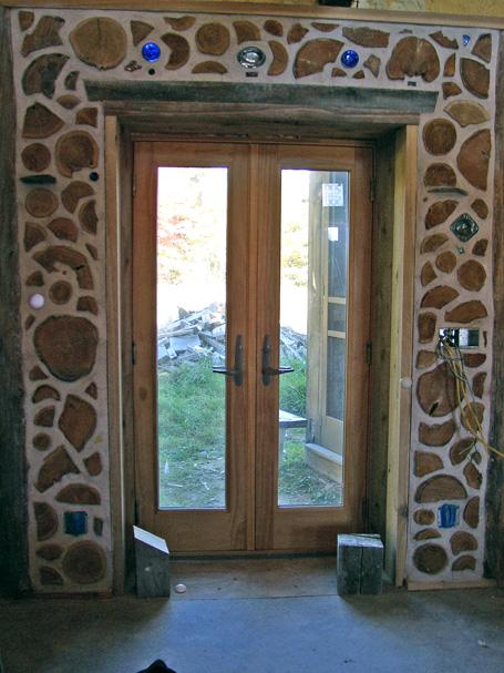 Back door panel.