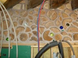 Utility room panelette.