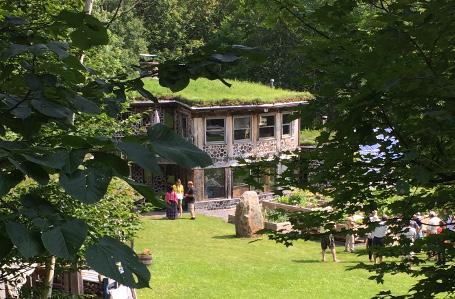The cordwood home that other cordwood homes call home
